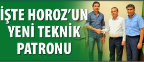Horoz Özköylü'ye emanet
