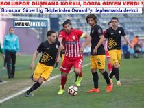 Osmanlıspor-Boluspor: 1-2