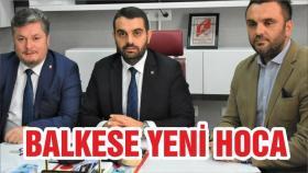 Balıkesirspor'un işte yeni teknik direktörü