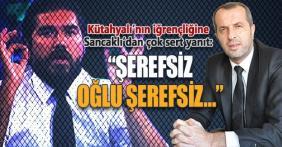 """Saffet Sancaklı'dan Rasim Ozan Kütahyalı'ya """"Şerefsiz oğlu şerefsiz"""""""