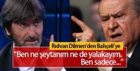 Rıdvan Dilmen ile Devlet Bahçeli kavga etti