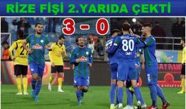 Çaykur Rizespor-İstanbulspor: 3-0