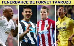 Fenerbahçe'de forvet'e 4 aday