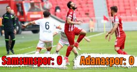 Samsunspor-Adanaspor: 0-0