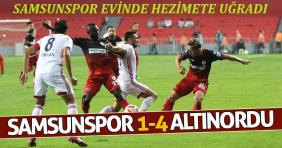 Samsunspor-Altınordu: 1-4