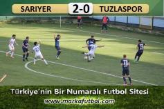 Sarıyer-Tuzlaspor: 2-0