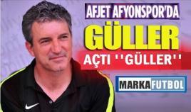 """AFYON'DA """"GÜLLER"""" AÇTI GÜLLER"""