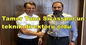 Tamer Tuna Sivasspor ile imzaladı