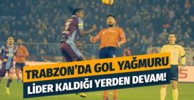 Lider Trabzon'u Trabzon'da fena dağıttı