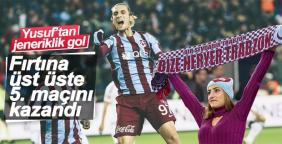 Trabzonspor'da 6 yıllık hasret bitti