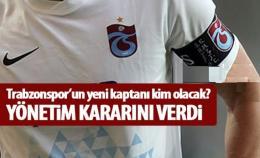 Trabzonspor'un yeni takım kaptanını yönetim belirledi