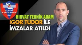 Karabükspor Hırvat Teknik Direktörle İmzaladı