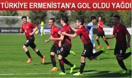 Türkiye-Ermenistan: 6-0