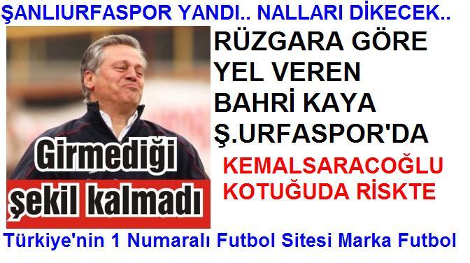 ŞANLIURFASPOR YANDI NALLARI DİKECEK